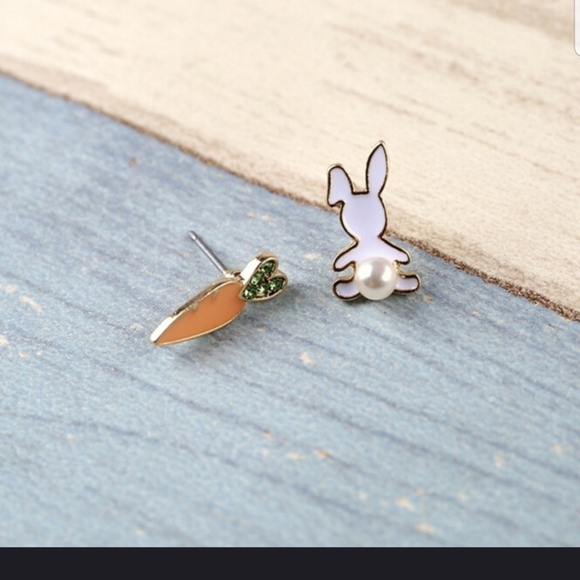 💥💥HOST PICK💥💥🐰🐇🥕  Bunny & Carrot earrings